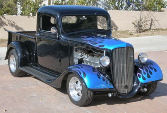 1936 Chevy Pickup With Images Classic Cars Trucks Classic