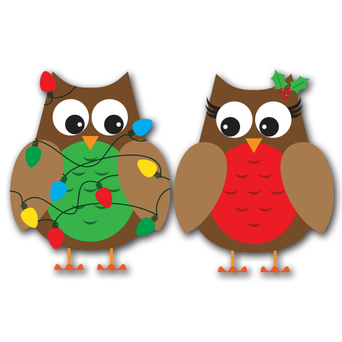 Add some fun to your Christmas creations with these fun owls ...