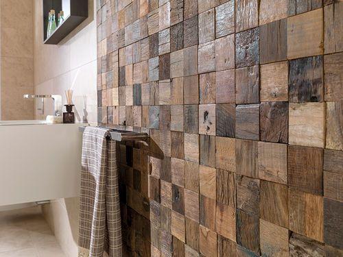 Panel decorativo de pared   de madera   3D   macizo WOOD Lu0027ANTIC