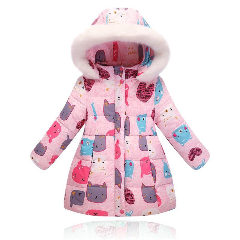 b7ae91778e37 NEW hot high quality 2016 Children down jacket Girls long section ...