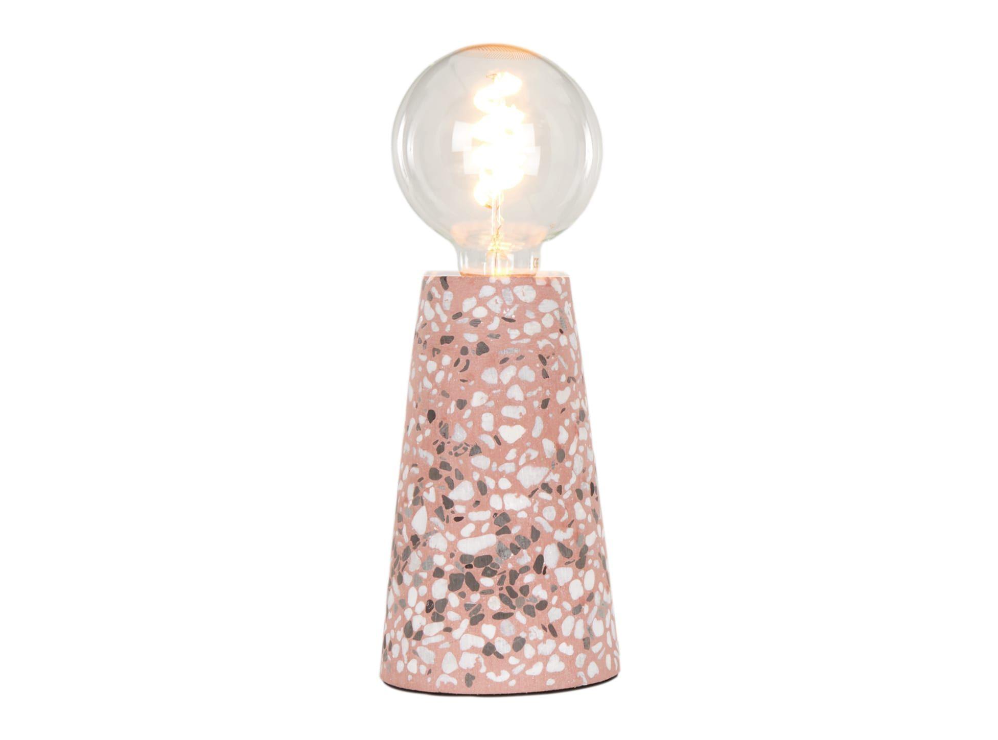 Made Com Jett Table Lamp Pink Terrazzo Tischlampen Lampe Lampentisch