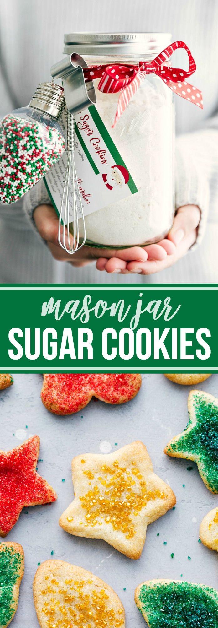 Mason Jar Sugar Cookies | Chelsea's Messy Apron