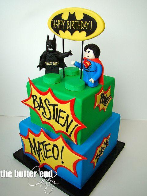 Dcccafcdacffdajpg  Legocake - Lego batman birthday cake