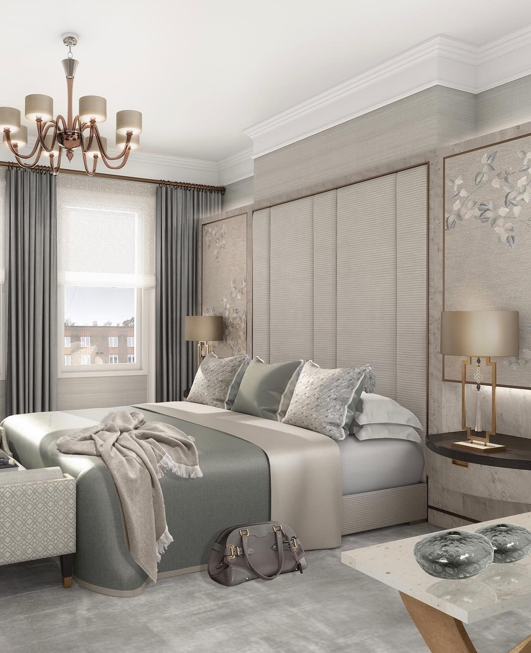 8 Luxury Bedrooms In Detail: Pin By Silviany On Classic - Bedroom In 2019