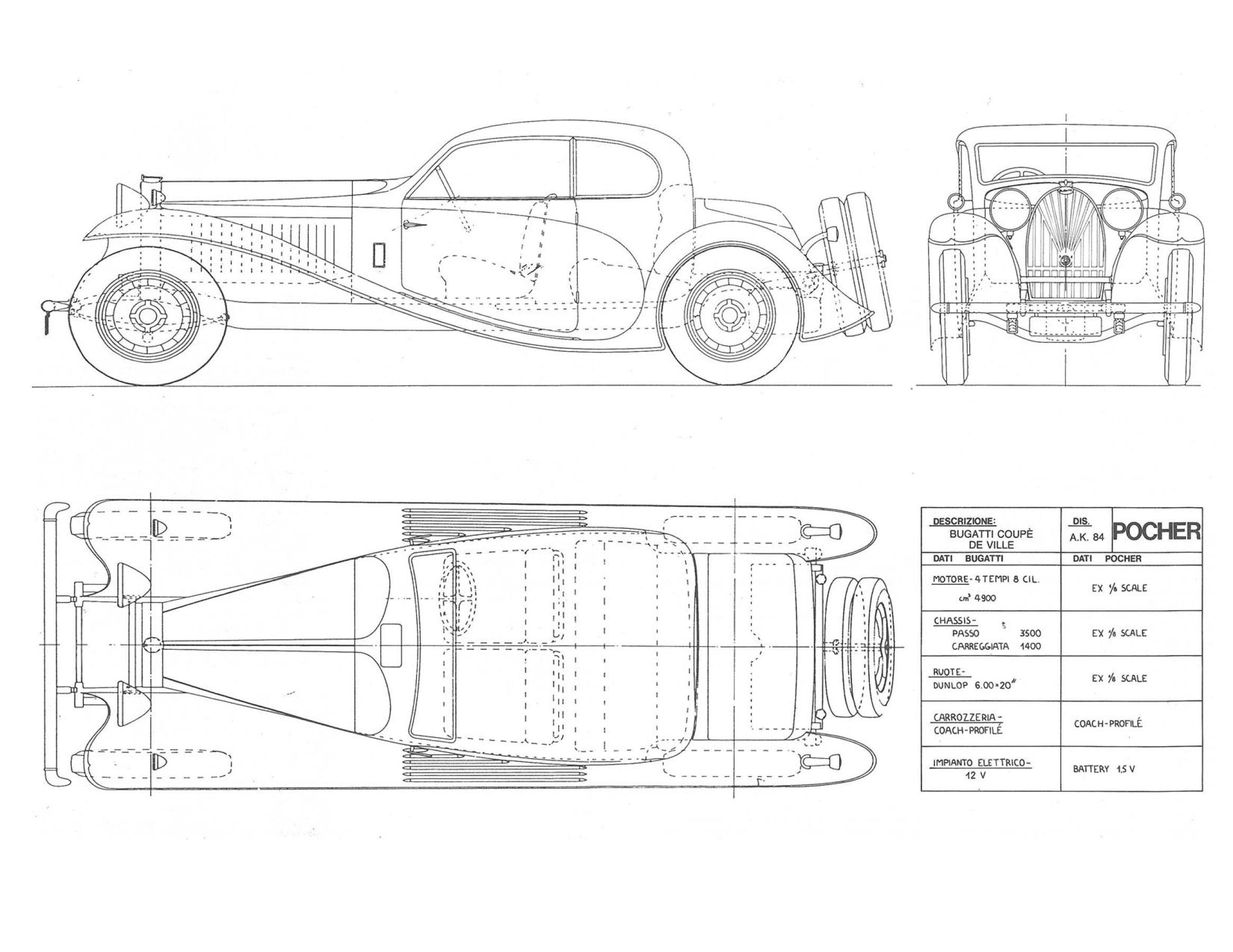 Bugatti Type 50 50t 32 Smcars
