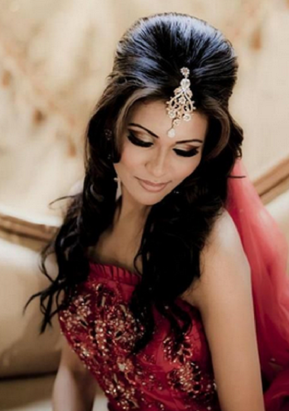 Asian Bridal Hairstyle : Popular asian bridal hair styles hairstyles pinterest