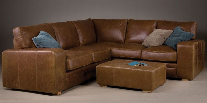Small Brown Leather Corner Sofa Leather Corner Sofa Best