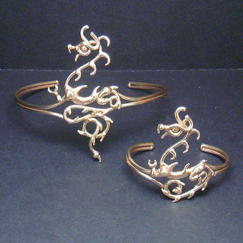Dragon Bracelet and Armband by BronzeSmith on DeviantArt