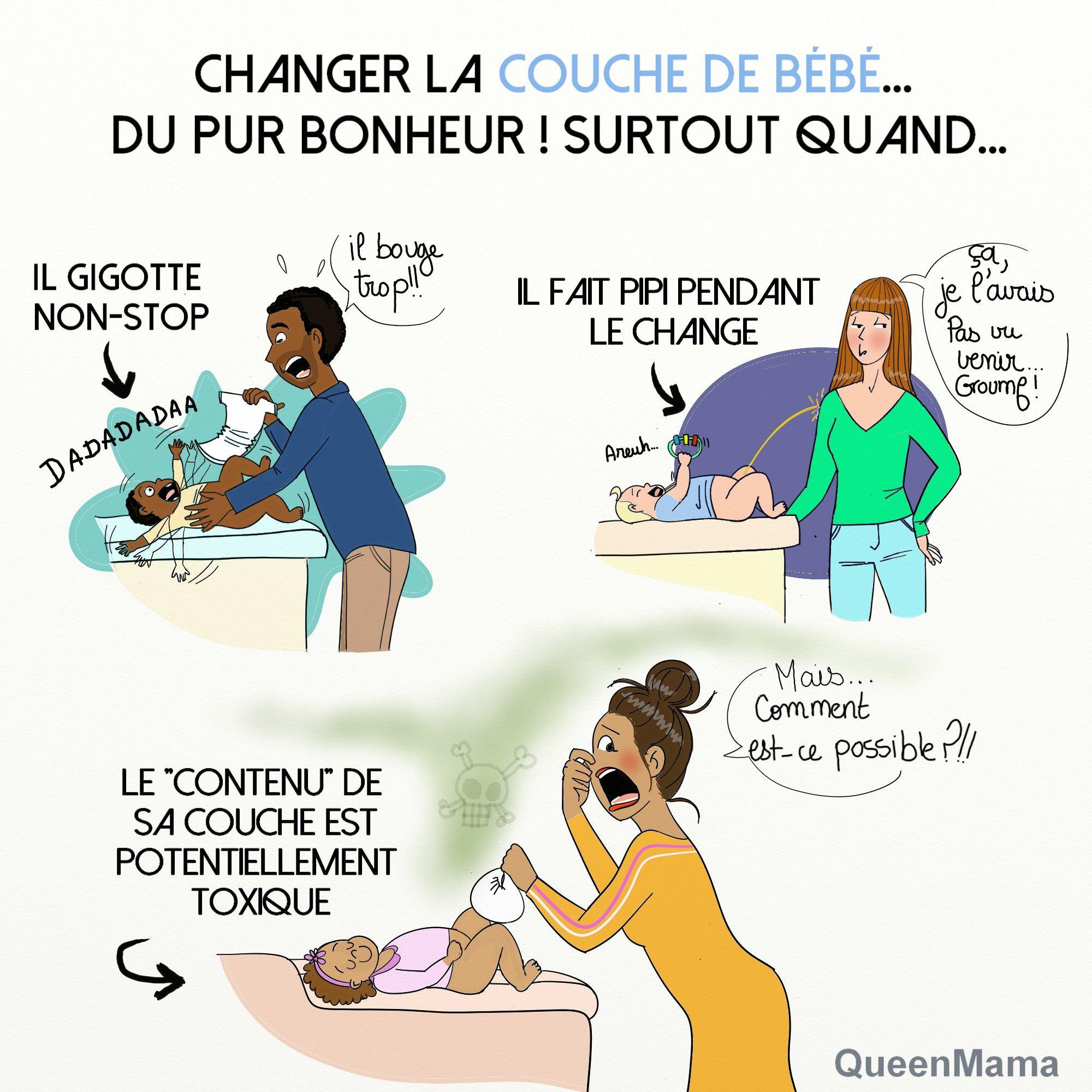 humour parents bébés quand il faut changer la couche | Humour parent, Bebe  couche, Éducation petite enfance