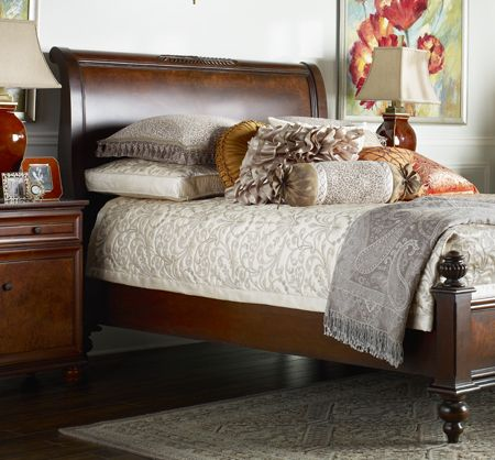 Bombay Co Inc Bedroom Beds Essex King Sleigh Bed