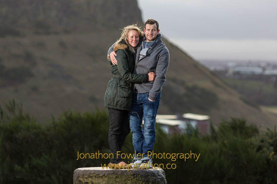 Calton Hill Photo Shoot - Faye and Iain