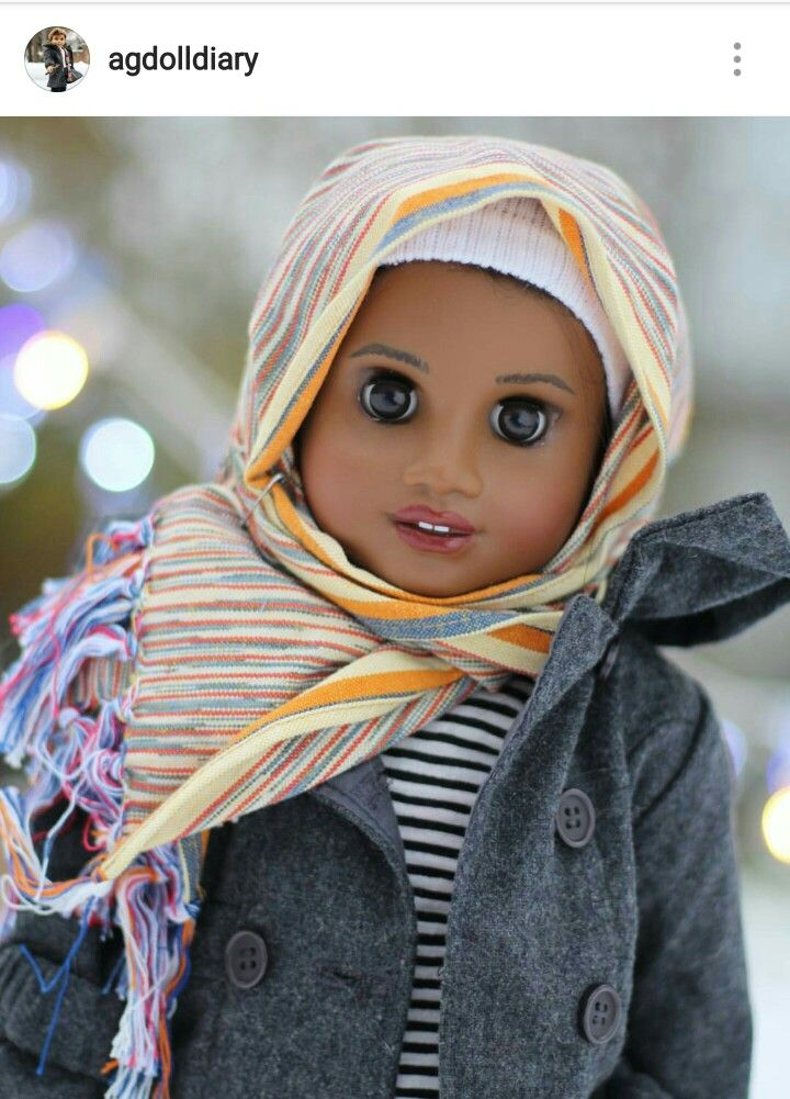 Beautiful! Agdolldiary doll makeover by