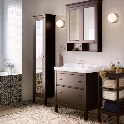 Bathroom Cabinets Ikea bathroom-ikea-hemnes-bathroom-cabinet-badkamer-on-pinterest-hemnes
