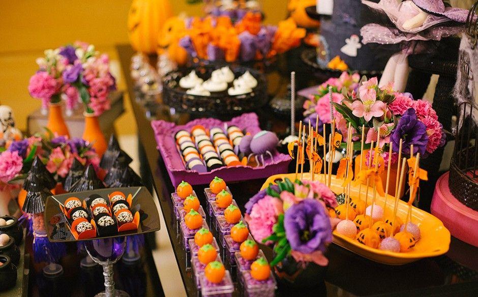 """Festa infantil com o tema""""Halloween"""" no'Fazendo a Festa' halloween Festa de terror, Festa  -> Decoracao De Festa Infantil Tema Halloween"""