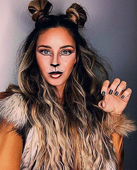30+ Wahnsinnige und doch hübsche Halloween Makeup Ideen | Einfaches Halloween Make-up