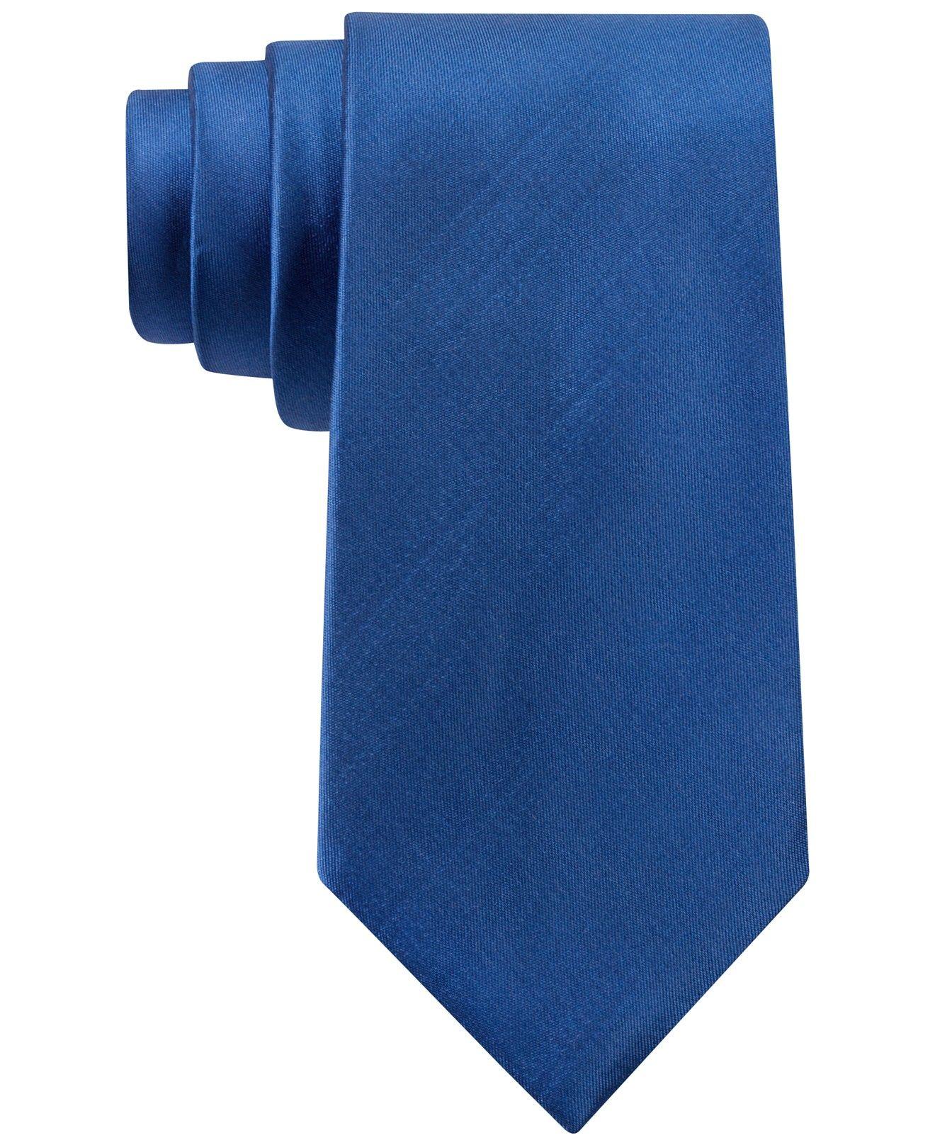 MICHAEL Michael Kors Sapphire Solid II Slim Tie - Tuxedos ...