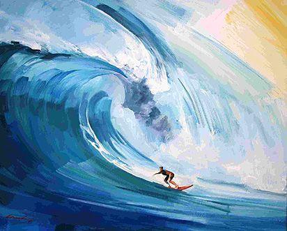 Vincenzo Ganadu Cotw Surf Artist Surf Surfing Surfer
