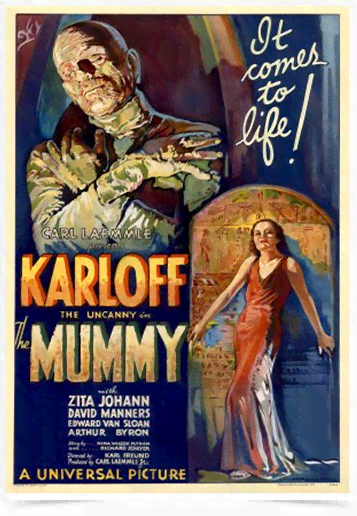 Poster Cinema Filme Mummy - Comprar em Decor10