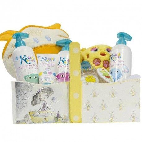Cesta Bebé Burbujitas, una #canastilla para #bebe, con productos de primera #calidad #cestas para #bebe