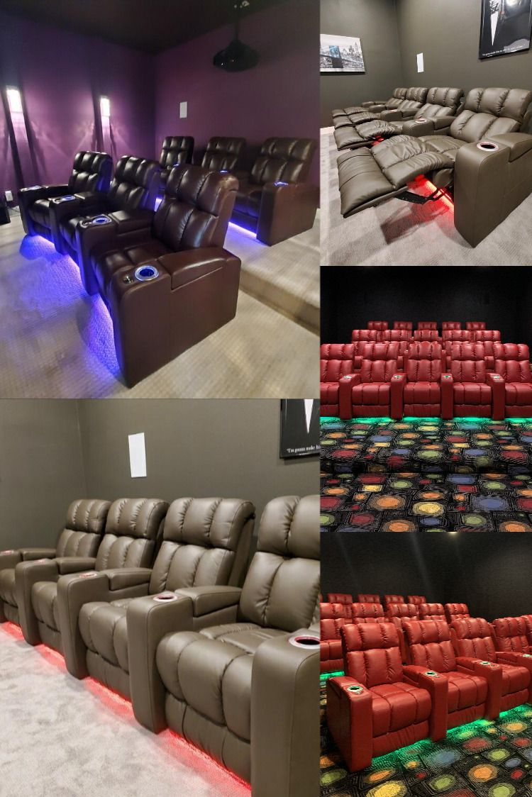 The Ovation Home Theater Chair By Palliser Custom Theater Seating In 2020 Theater Chairs Home Theater Seating Theater Seating
