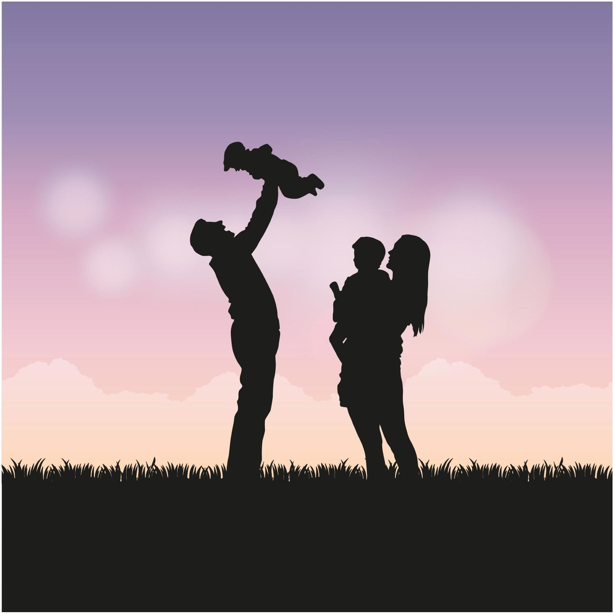 Happy Family Background Wallpaper The Proud Family Happy Fathers Day Shadow Art