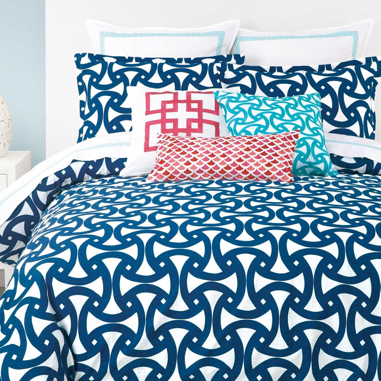 Pre Order Trina Turk Santorini Blue Duvet Set Duvet Covers Quilts Bed Blue Comforter Sets Duvet Cover Sets Blue Duvet