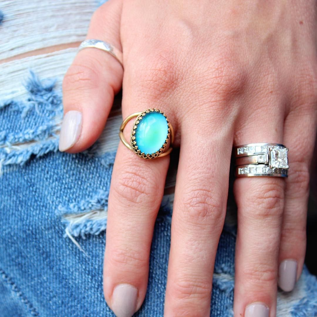 retro mood ring   Jewelry   Pinterest   Mood rings, Chelsea and Mondays