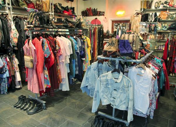 Rokit Interior Timeout Vintage Clothes Shop Vintage Store Vintage London
