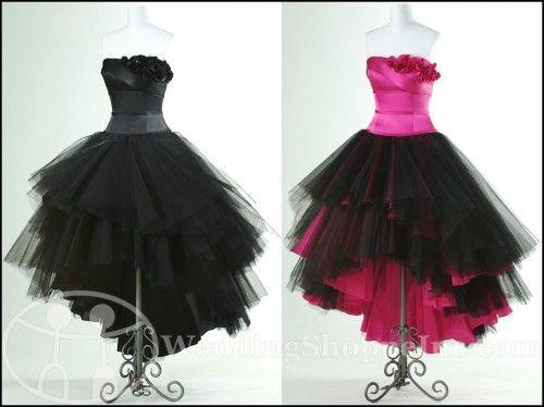 Punk Rock Dresses For The Bridesmaids Dream Wedding 3