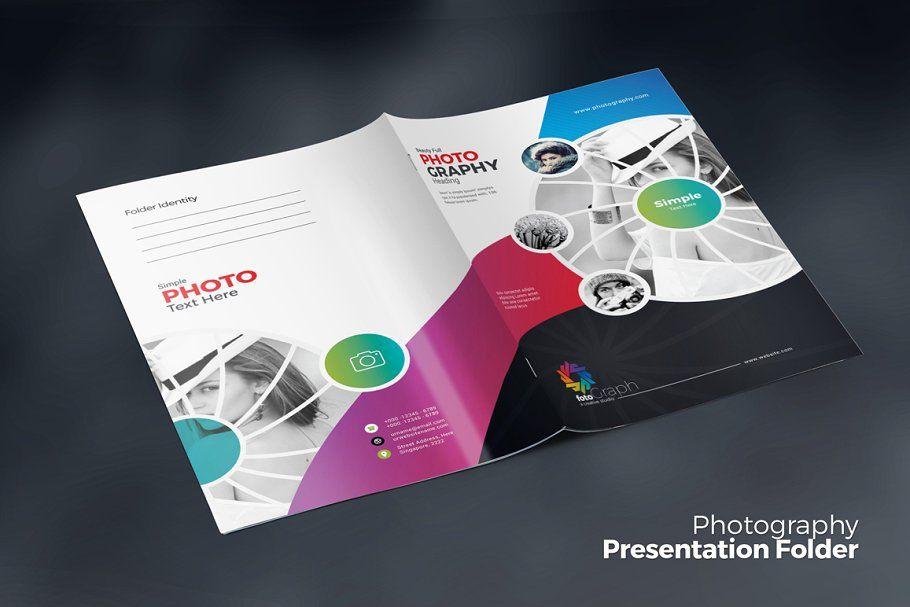 Photography Presentation Folder , #AFFILIATE, #ready#Print#CMYK#Color #affiliate