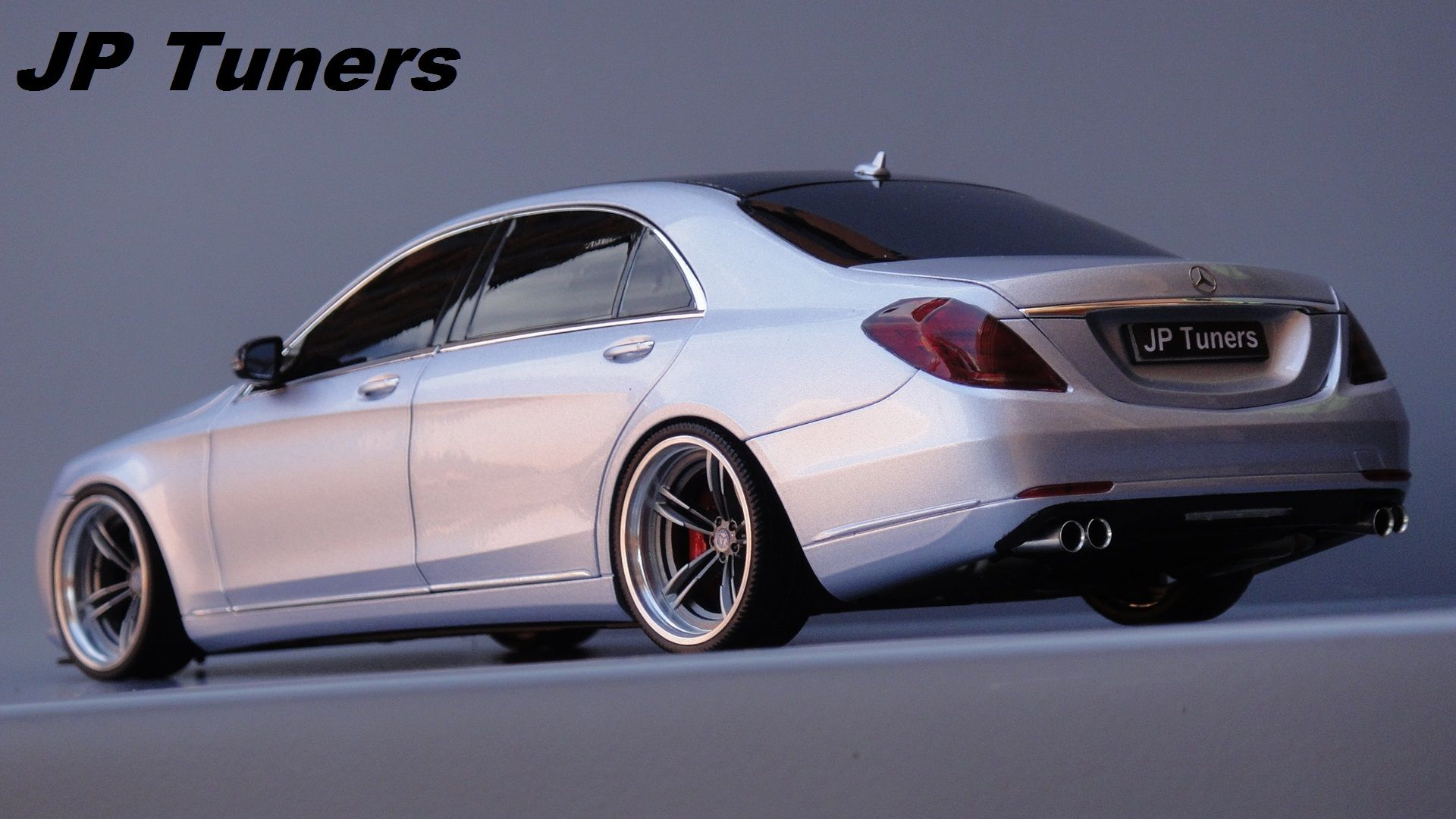 1 18 MERCEDES S W222 TUNING JP Tuners