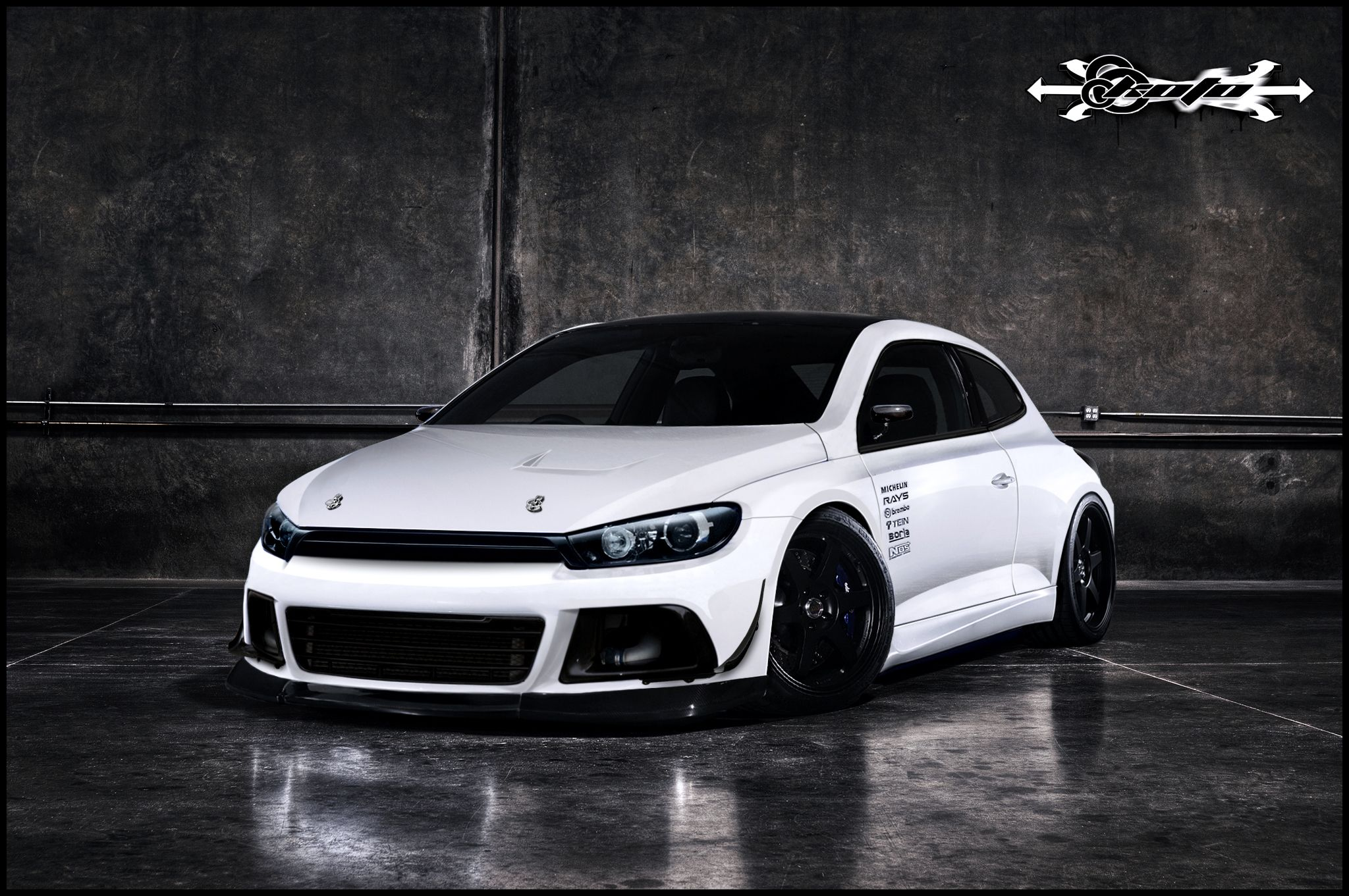 vw scirocco r by koto pinterest vw scirocco vw and. Black Bedroom Furniture Sets. Home Design Ideas