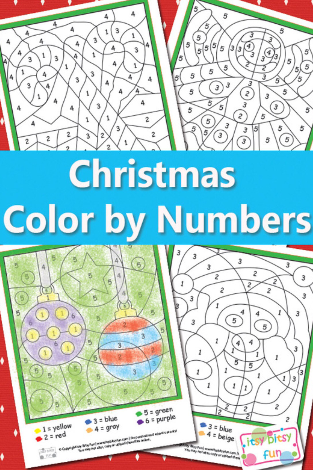Color By Numbers Worksheet Round Up | School worksheets, Free ...