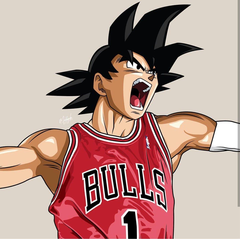 Goku • Chicago Bulls | Dragon Ball Z | Pinterest