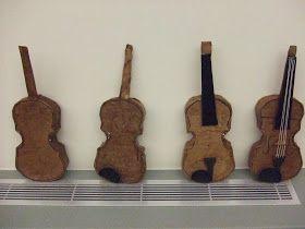 Make a paper violin!