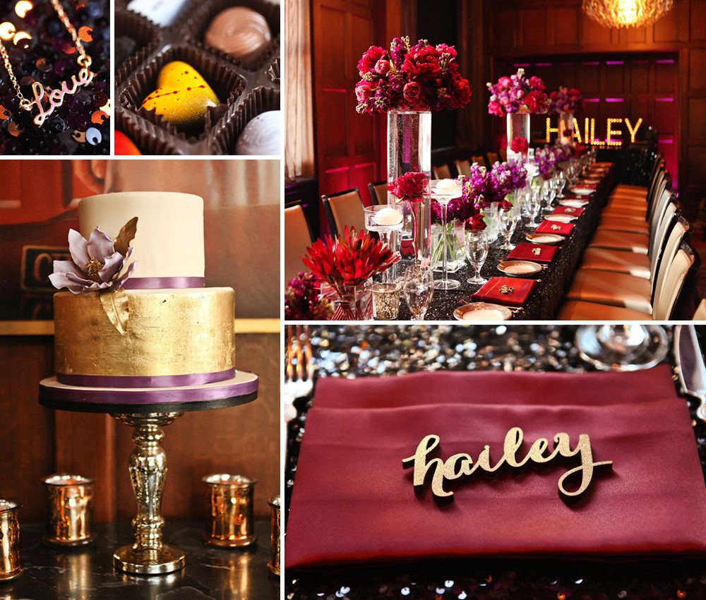 Amazing 30th Birthday Dinner Party Ideas Part - 13: Dramatic U0026 Glamorous Dinner Party {30th Birthday