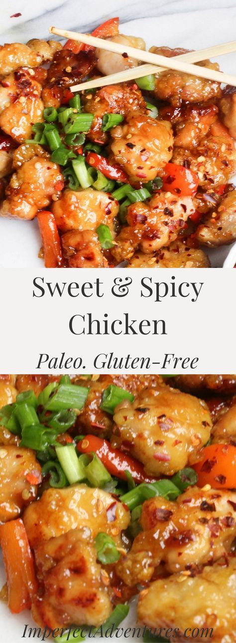 Sweet and Spicy Chicken - Grace & Granola