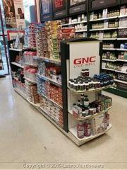 Gnc Store Fixtures Store Fixtures Fixtures Gondola Shelving
