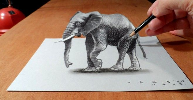 60 beautiful 3d drawings easy 3d pencil drawings and art works
