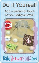 Do it yourself add a personal touch to your baby shower mothers baby shower crafts list of do it yourself craft tutorials solutioingenieria Gallery