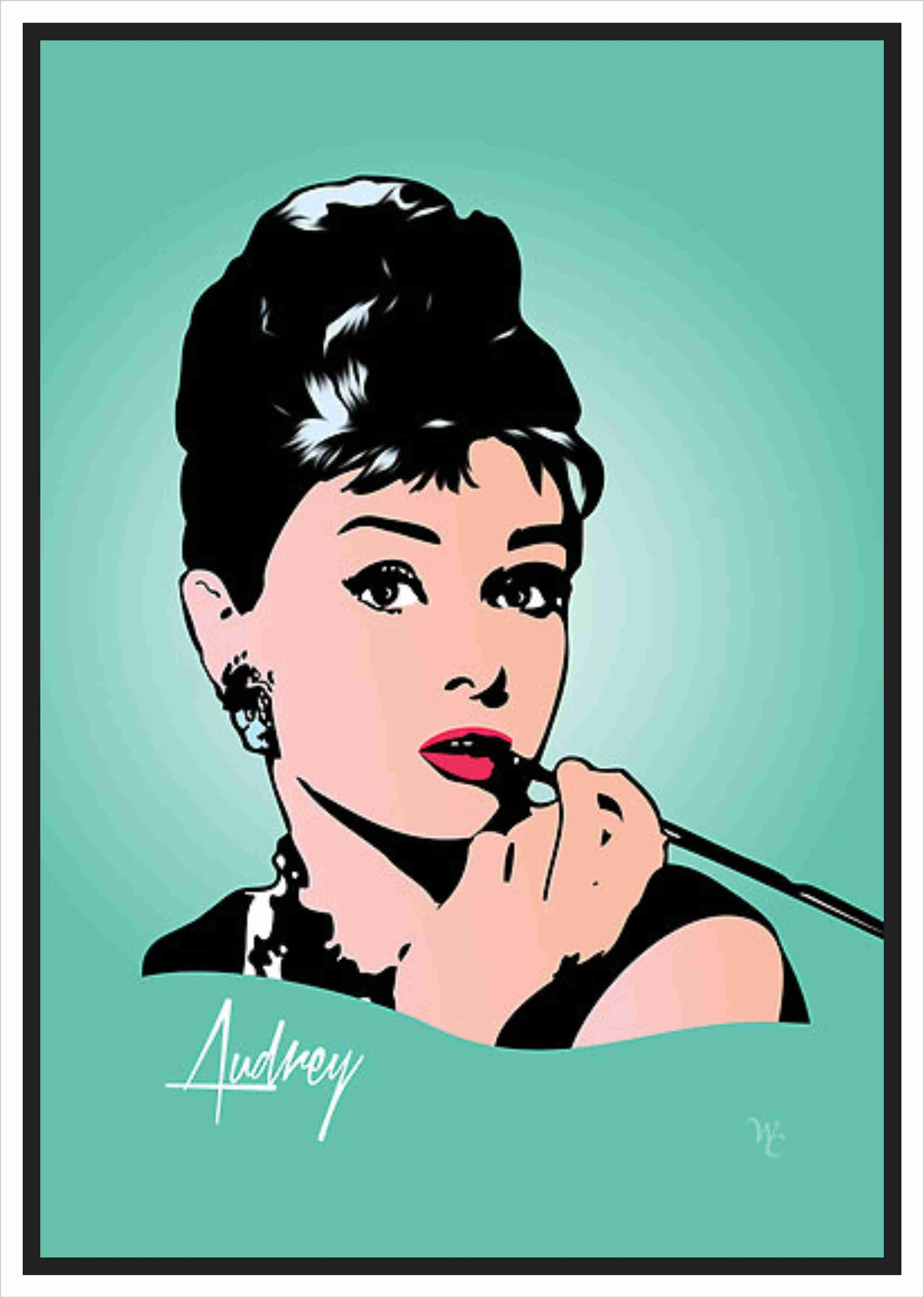 Audrey hepburn bonequinha de luxo desenho pesquisa - Audrey hepburn cuadros ...