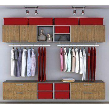 Dressing Spaceo Home Effet Chene Leroy Merlin Idee Dressing Mobilier De Salon Et Dressing