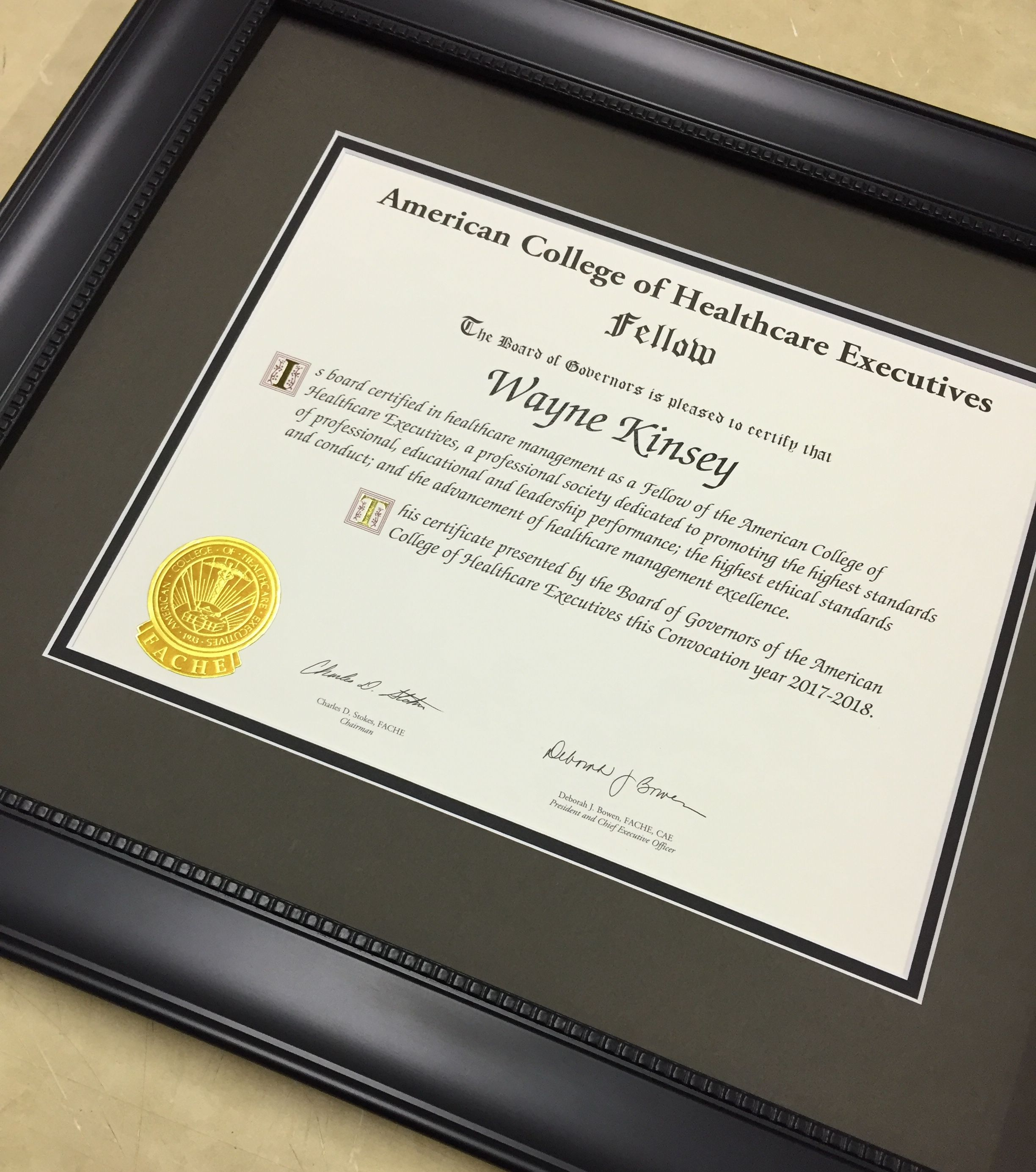 We love framing your great accomplishments. Framed by Frameworks of ...