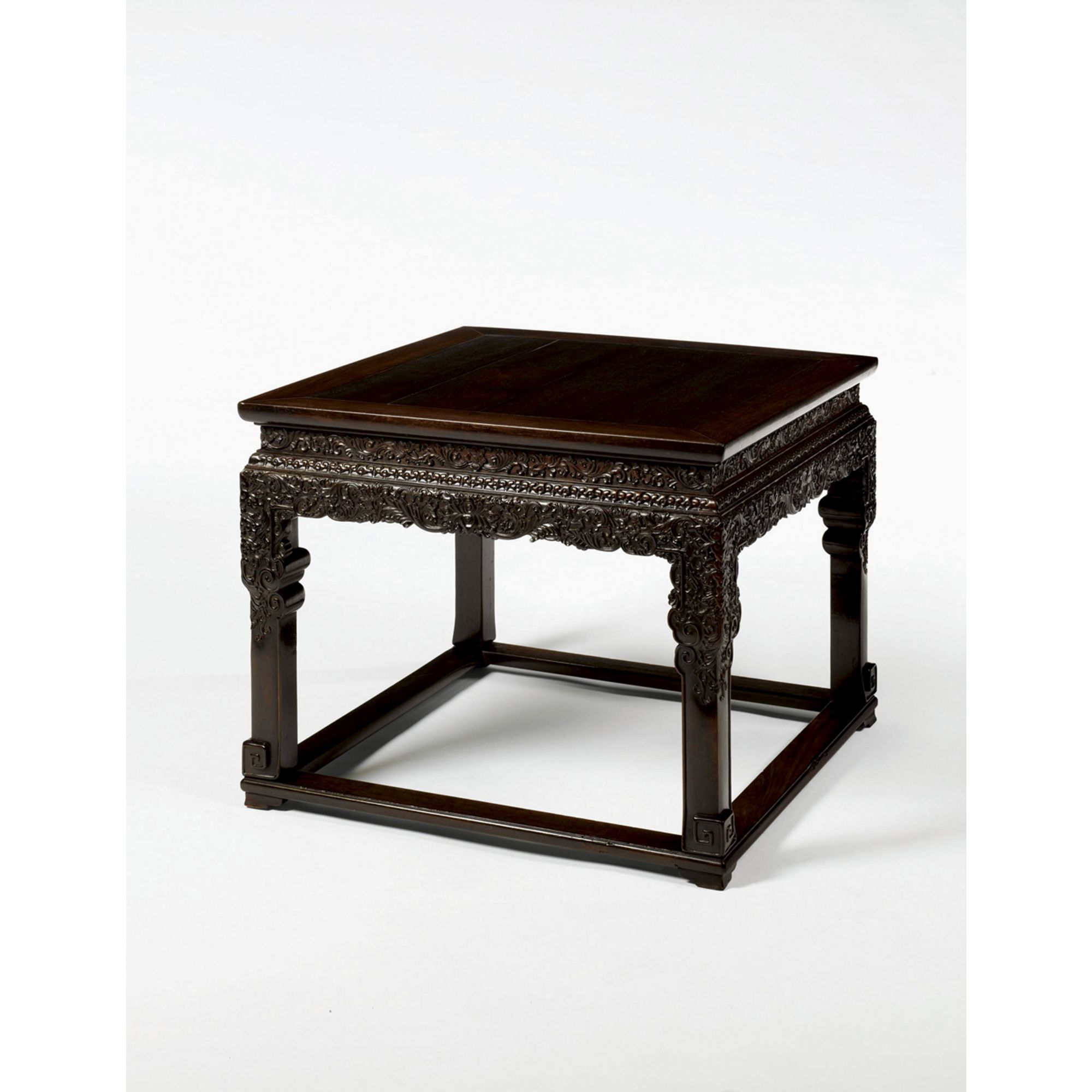 An imperial zitan square table fangzhuo qing dynasty qianlong an imperial zitan square table fangzhuo qing dynasty qianlong period geotapseo Gallery