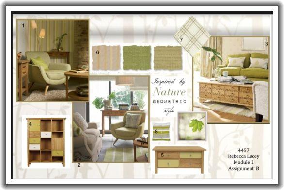 Furniture Design Presentation Board nature inspired concept board #inspiration #olive #nature #neutral