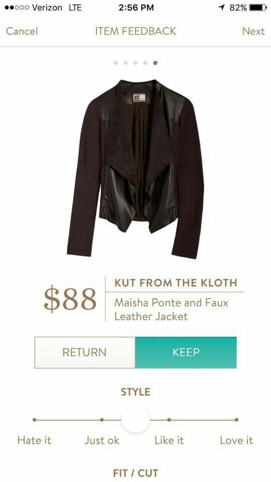 Love, love, love this jacket