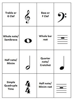 Memory Game Music Symbols A Fun And Educational Way To Learn