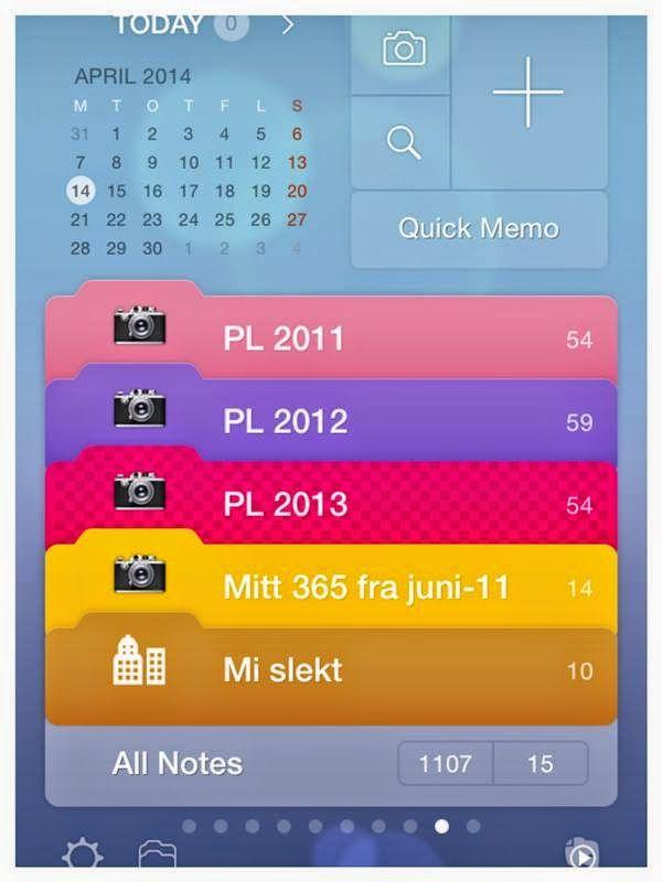 Project Life Norge: Eg bruker denne appen til å notere alt eg vil hugse