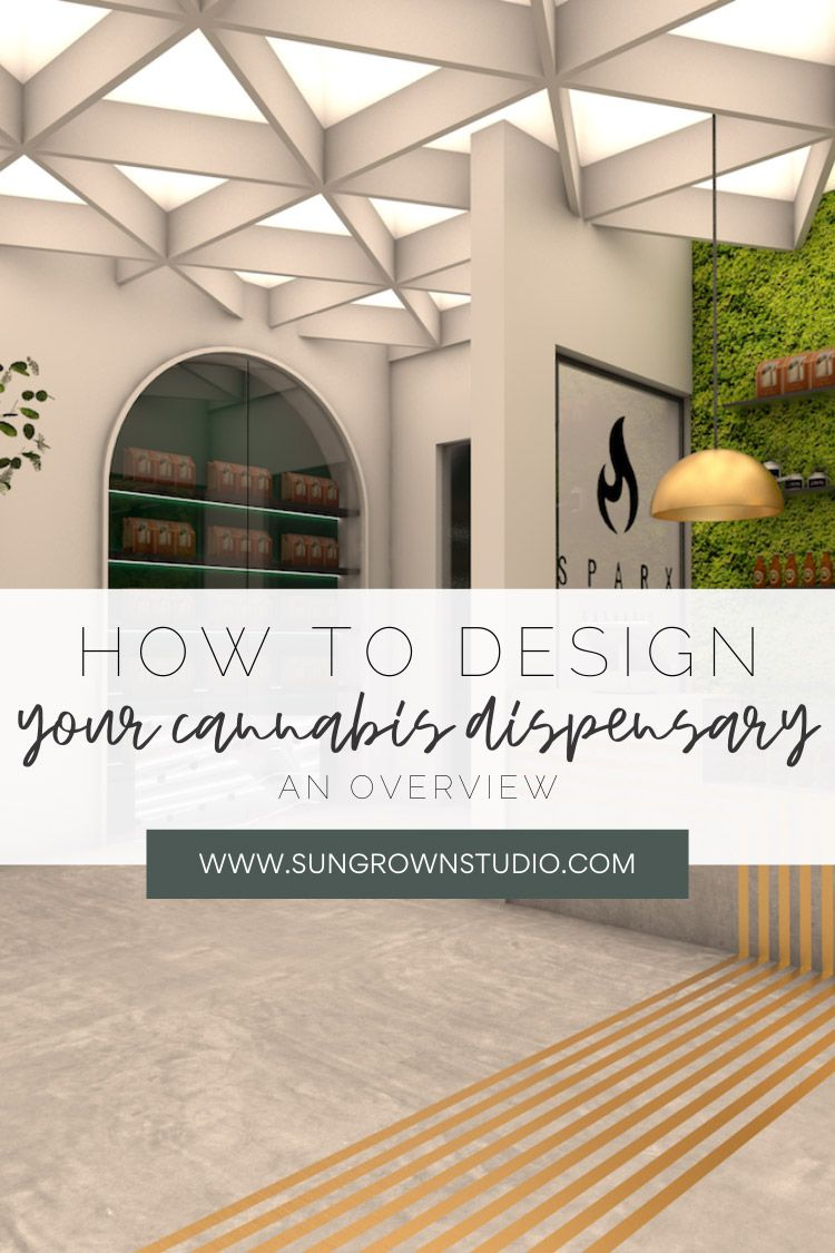 How To Design Your Cannabis Dispensary | Process | Sungrown Studio