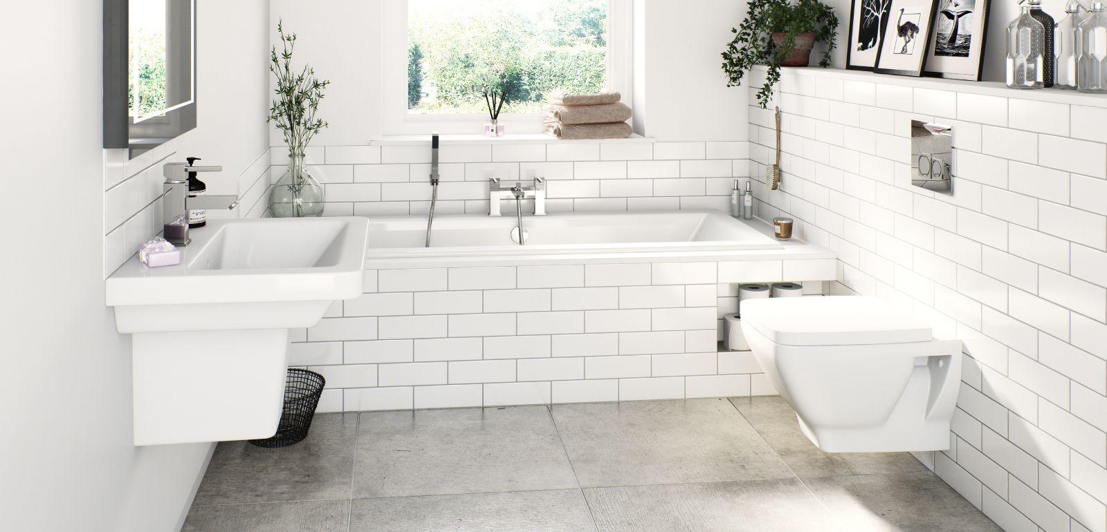Verso Bathroom Suite Range | Bathrooms | Pinterest | Ranges